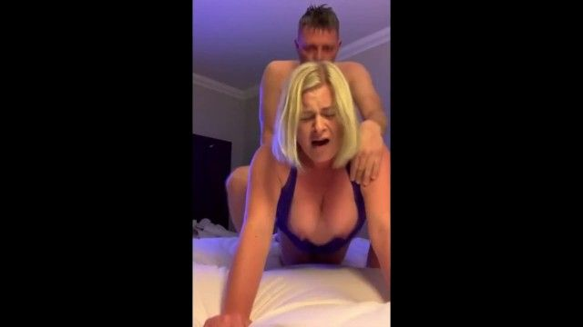 Breasty blond cumming actually hard jointly