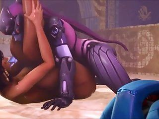 Shemale hentai widowmaker bonks pharah cg animated