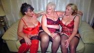 Mature large natural boobed british ladies having joy jointly