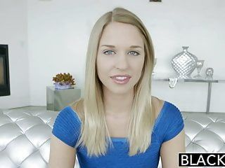 Blacked ideal blond lacey johnson squirts on african schlong