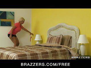 Brazzers - hot lesbo bridgette b copulates her latin babe maid