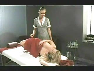 2 ladies exposed massage